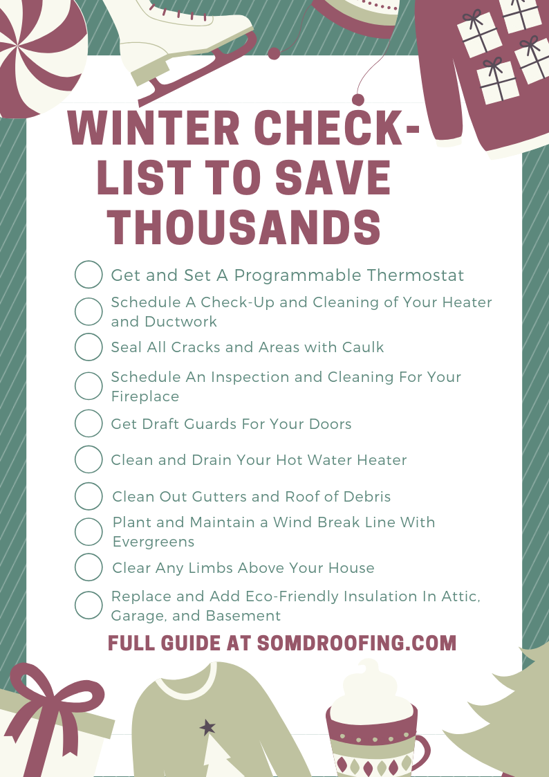Winterizing Your House Checklist