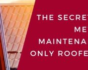 The Secrets About Metal Roof Maintenance That Only Roofers Know
